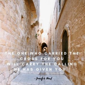 Who is Carrying Your Calling?